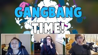 Random Pros Stream Moments #17- GANGBANG TIME! | Nebu