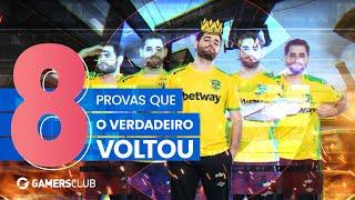 OITO PROVAS DE QUE O VERDADEIRO VOLTOU! | Lista Gamers Club #1