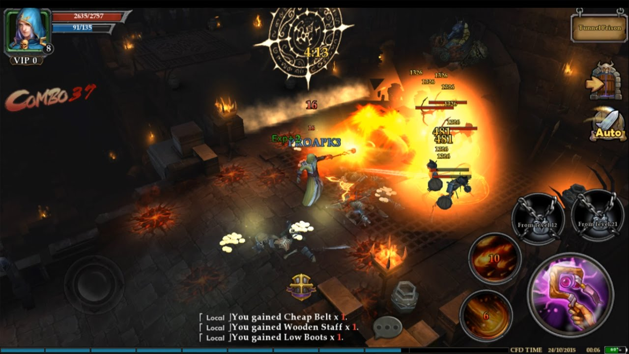 clash for dawn android