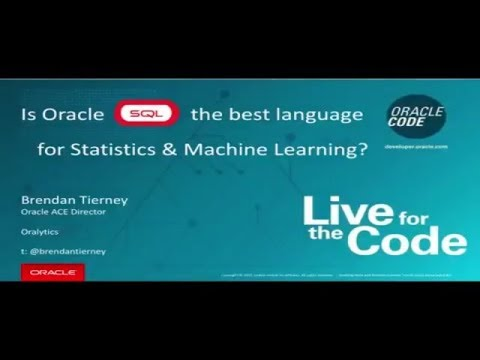 Is SQL the Best Language for Statistics and Machine Learning