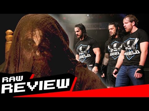 REVIEW-A-RAW 10/9/17: Sister Abigail is... Bray Wyatt? The Shield Reunite