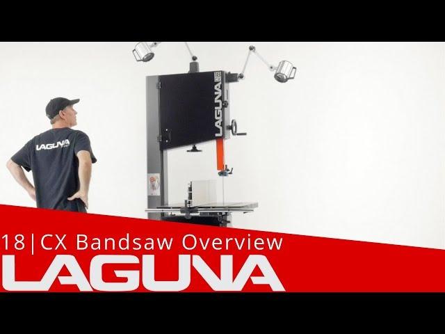 Laguna Bandsaw - 18CX Overview