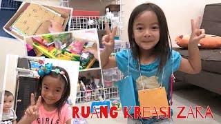 Ini dia Kamar Kreasi yang membuat Zara semangat Belajar dan Kreatif   Ruang Anak