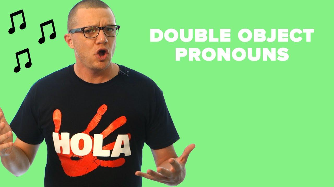 Double Object Pronouns Spanish Worksheet Answers - Nidecmege