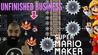 We can do this.. | Unfinished Business Episode 5 | Super Expert Mario Maker