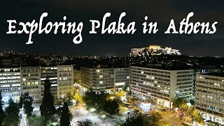 Explore Plaka in Athens, Greece - Travel with Arianne - Travel Europe episode #2