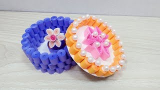 Best Paper Quilling Jewelry Box tutorial Videos