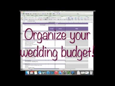 How to: Wedding Budget on Excel! | Wedding Planning