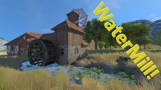 Medieval Engineers S0 E5 Playing with the Watermill