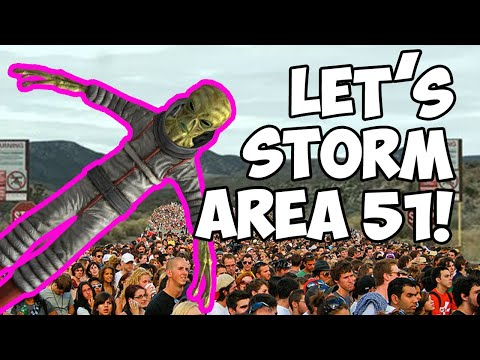 THOUSANDS OF PEOPLE ARE GOING TO STORM AREA 51