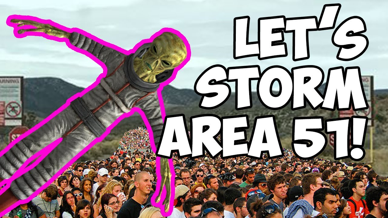 Half a million people signed up to storm Area 51. What happens if they actually show?