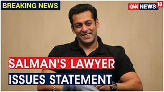 Bollywood Drug Probe: Salman Khan's Lawyer Issues Statement On Linking Actor With KWAN | CNN News18