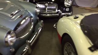 Austin Healey 3000 interior re-fresh