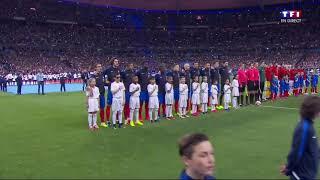 France-Espagne La Marseillaise