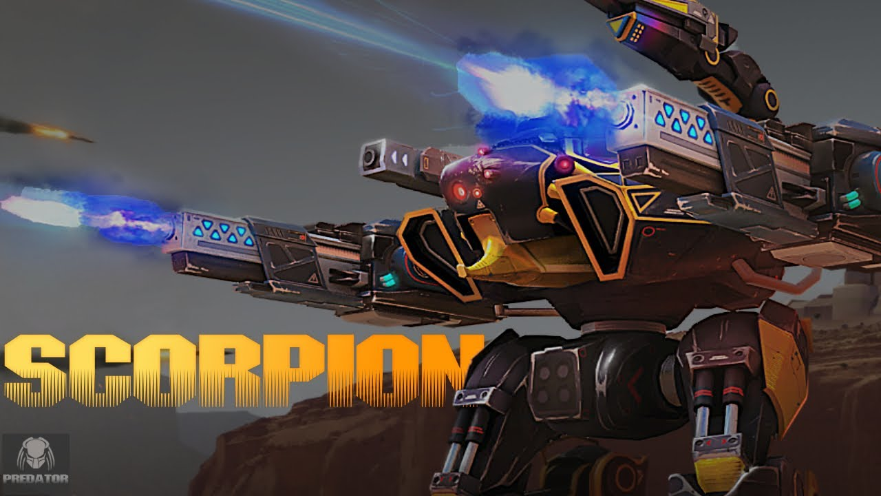The NEW Scorpion Breaking The Game On The Live Server - The Future Robot Meta Of The Game | WR