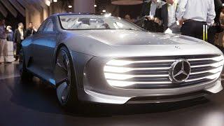 Автомобиль будущего - Mercedes-Benz EVA(Автопроизводитель Mercedes-Benz своим новым концепткаром на платформе EVA сделала свой дебют в США ( Лас-Вегас..., 2016-01-12T14:52:23.000Z)