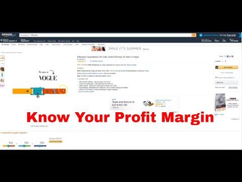 Amazon FBA Profit Margin Calculations Made Easy