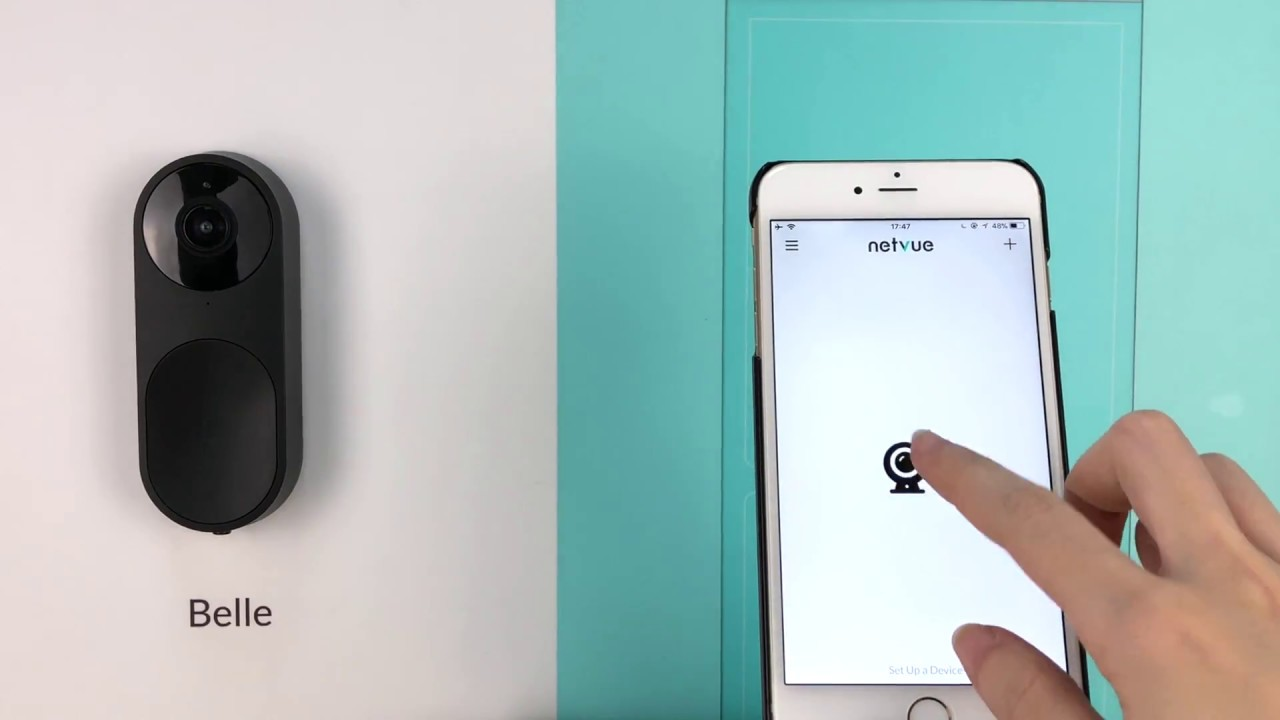 Netvue Belle AI WiFi Doorbell » Gadget Flow