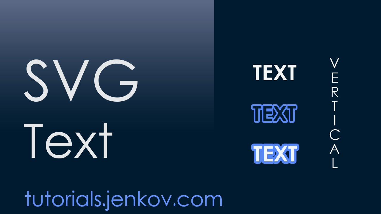 SVG text element