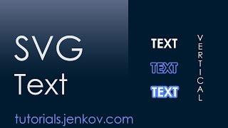 SVG - text by Jakob Jenkov