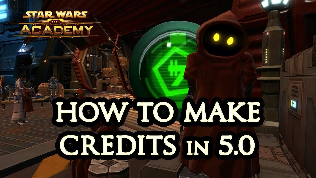 How to Earn Credits in SWTOR 5 0 - Swtorista - SWTOR Videos