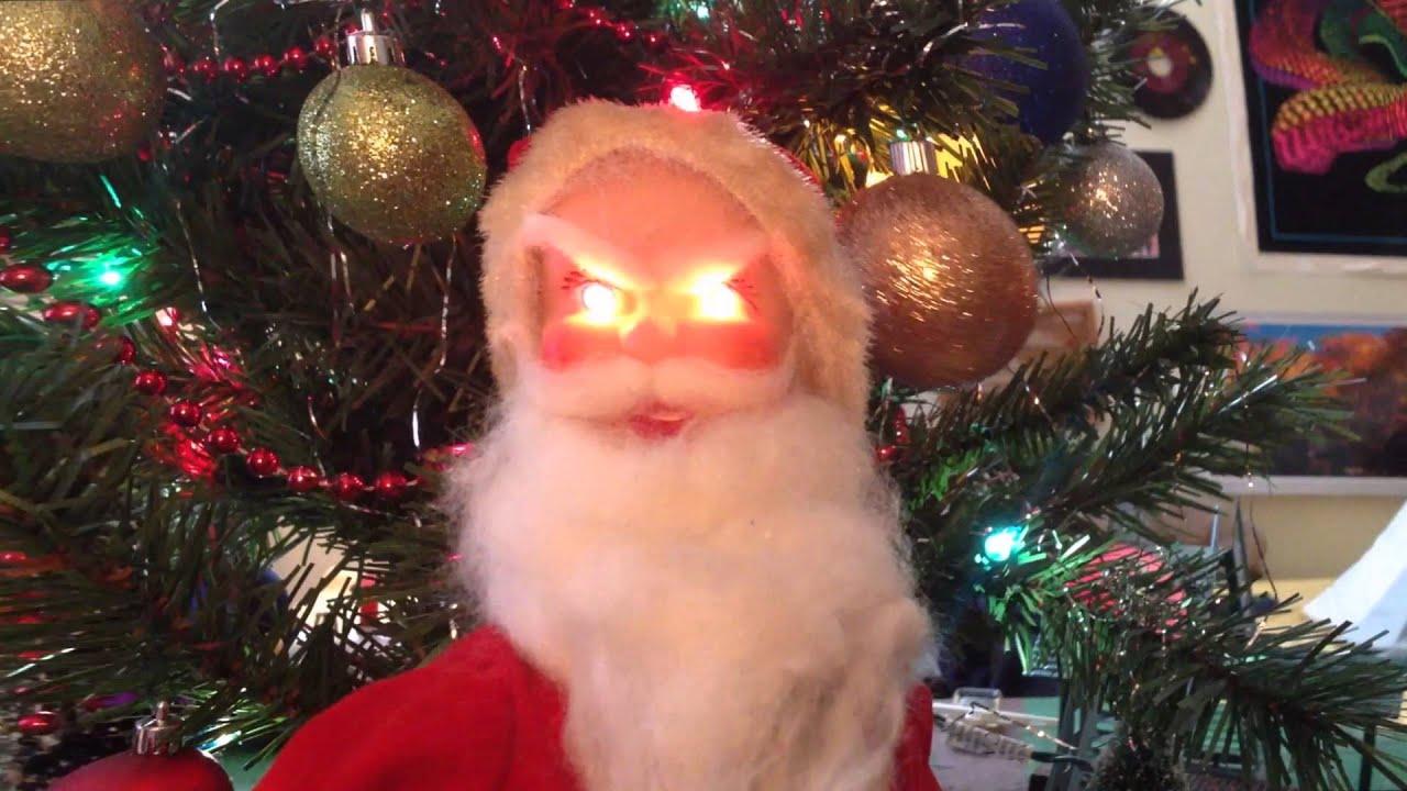Evil Santa (Creepy Christmas Decoration)
