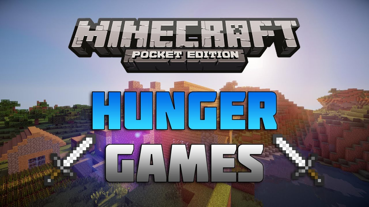how to create a hunger games server on minecraft pe