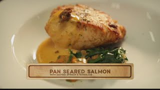 Sam Choy's In the Kitchen: Pan Seared Salmon