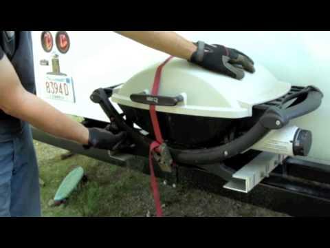 Weber Q grille RV retrofit conversion