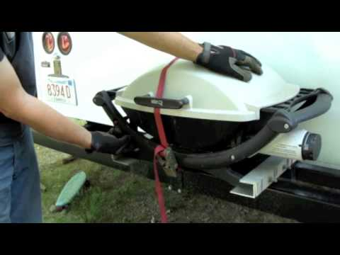 Weber Q Grille Rv Retrofit Conversion Youtube