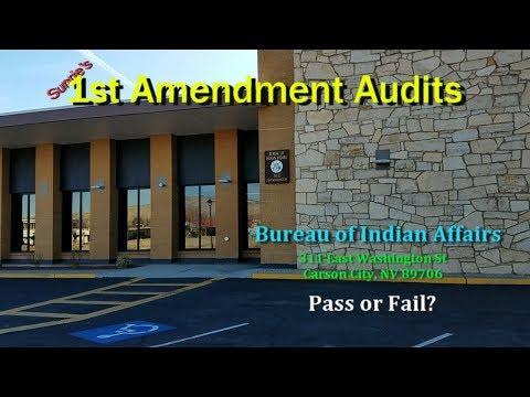 1st Amendment Audit - Bureau of Indian Affairs in Carson City, NV - Pass or Fail?