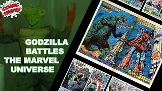 Godzilla Battles the Marvel Universe - Comic Tropes (Episode 87)
