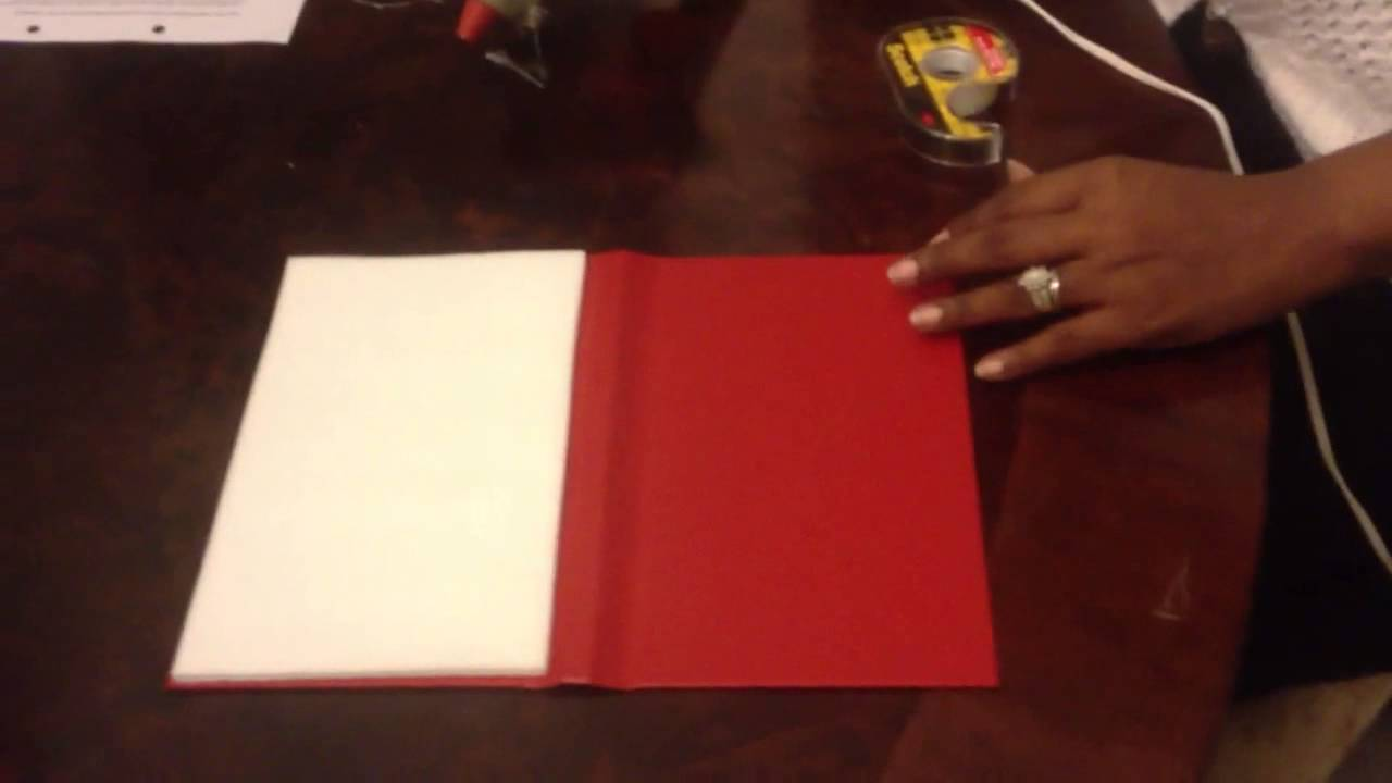 DIY/ How To Make a Folio Invitation - YouTube