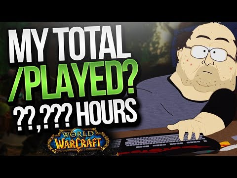WHAT'S MY /PLAYED AFTER 12+ YEARS PLAYING WORLD OF WARCRAFT