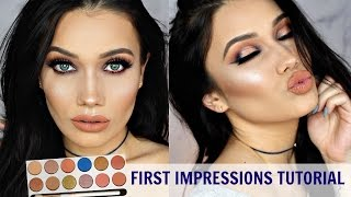 Kylie Royal Peach Palette First Impressions Makeup Tutorial
