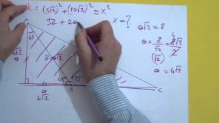 Dik Üçgen 2 - Öklit Şenol Hoca Matematik