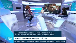 Benalla : les sénateurs ciblent l'Elysée - Les questions SMS #cdanslair 20.02.2019