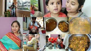 Last Minute Vanta | Lunch in 30 Mins | Aarush నన్ను ఏం అన్నాడో తెలుసా ?? Happy Day with Family 👪