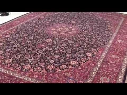 World NO:1 Antique Persian Carpet made by Saber