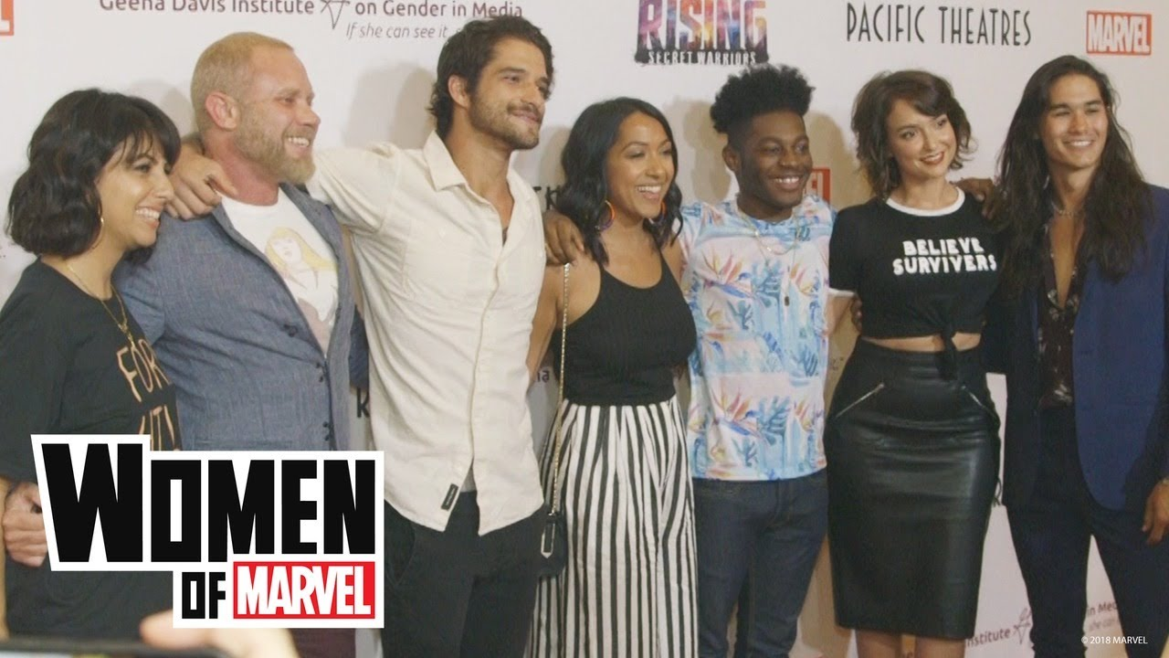 A Star-Studded Red Carpet Premiere of Marvel Rising: Secret Warriors | Women of Marvel