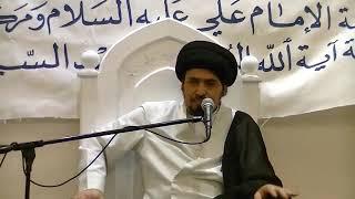 السيد منير الخباز - تنصب أربعة ألوية  للملائكة في ليلة القدر و تستغفر لكل مؤمن يدعو فيها إلا...