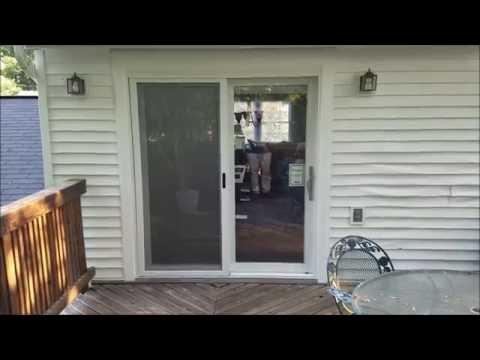 Provia Sliding Glass Door Install in Centreville, VA