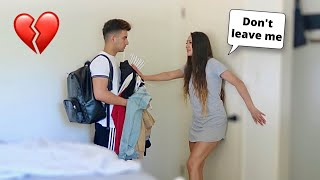 BREAKING UP WITH MY GIRLFRIEND AFTER A HUGE ARGUMENT!! **SHE CRIED**