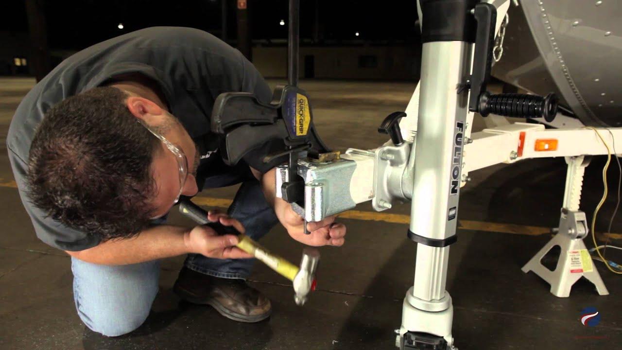 Installing A Fulton 174 Fold Away Bolt On Hinge Kit Hdpb