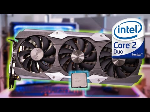 Core 2 Duo + GTX 1080 Ti - How Badly Does It Suck?