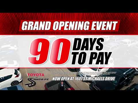 Grand Opening at Toyota of Santa Fe | New Mexico Toyota Dealer