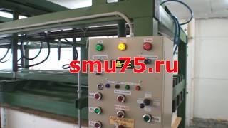 видео Оборудование для производства SIP панелей