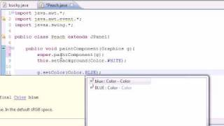 Java Programming Tutorial - 84 - Drawing Graphics