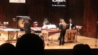xylophone rag indian story played at osu by perry hs percussion