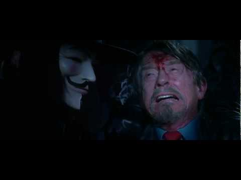 V For Vendetta (2005) final scene HD